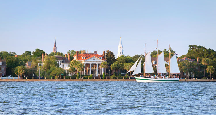 Charleston SC Water Tours – Charleston Sc Tourist Map
