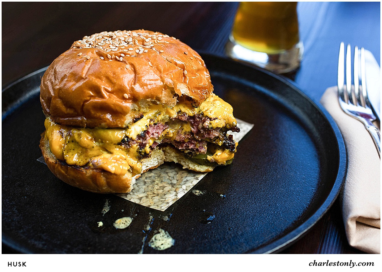Husk Cheeseburger