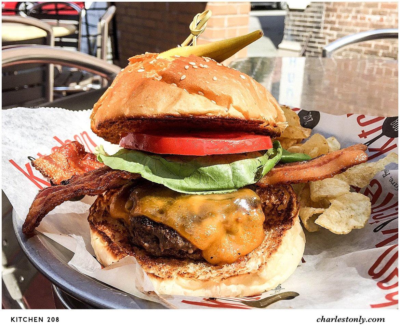 Kitchen 208 Cheeseburger