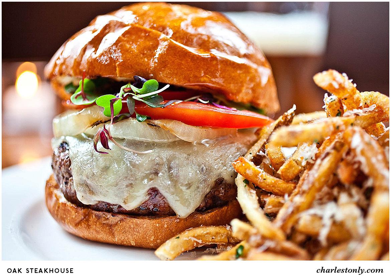 Oak Steakhouse Cheeseburger