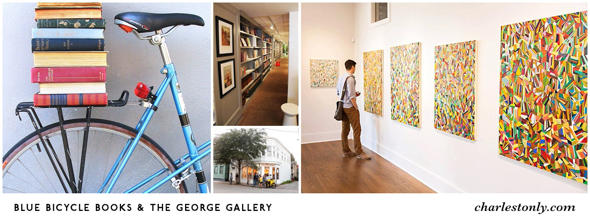 Blue Bicycle Books & The George Gallery