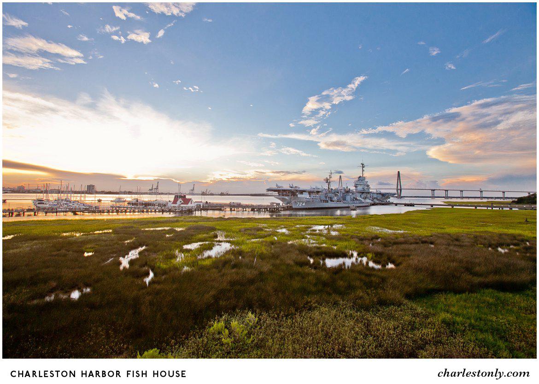 8 restaurants with amazing sunset views in charleston for Charleston harbor fish house
