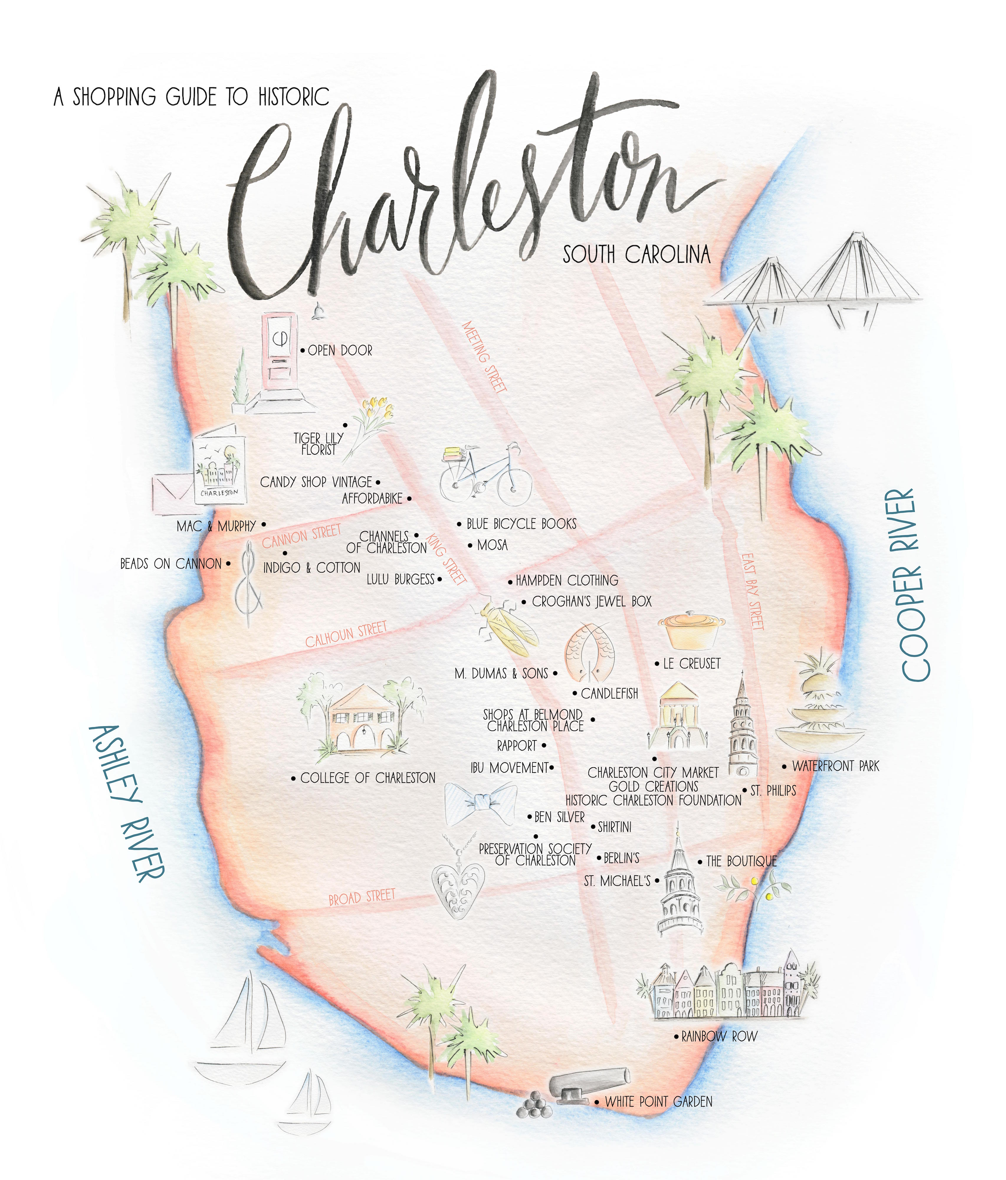 Guide To Traveling To Charleston Sc: A Shopping Guide To Historic Charleston