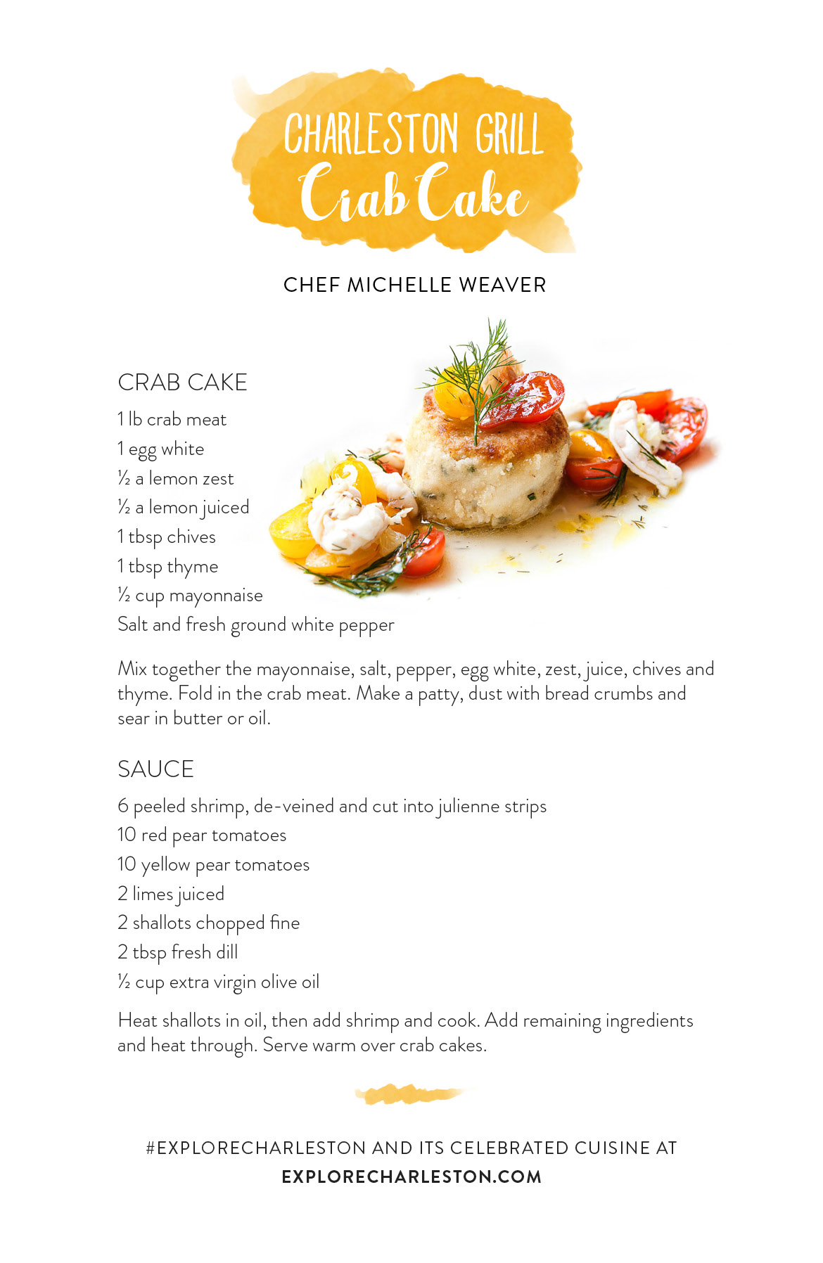 Charlestonly Com Crab Cake Recipe