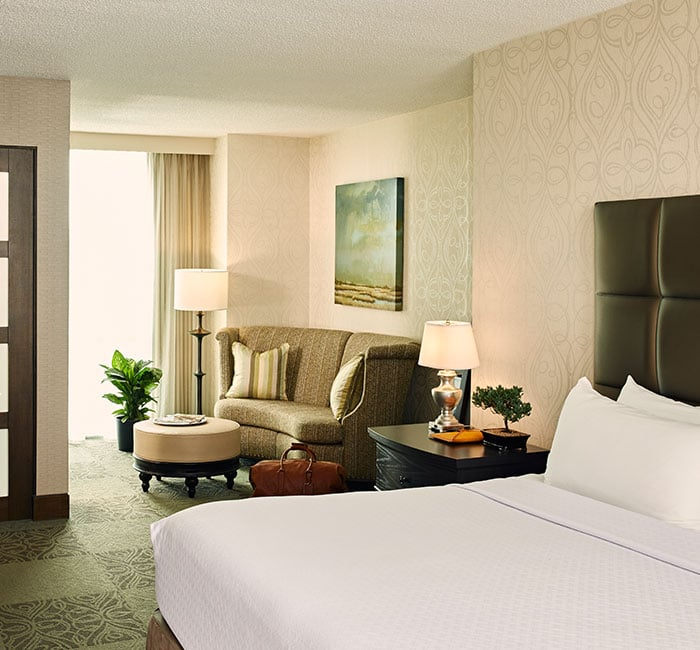 Photograph of a room at Crown Plaza Charleston Airport