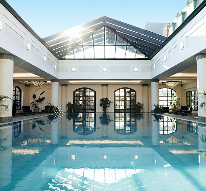 Photograph of the pool at Belmond Charleston Place