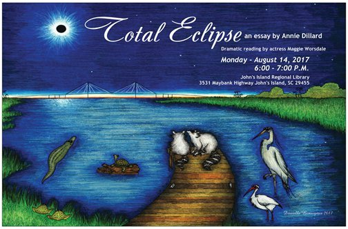 """the metaphors in total eclipse an essay by annie dillard Home last-minute solar eclipse lesson plans for english teachers  last-minute solar eclipse lesson  personal essay inspired by annie dillard's """"total."""