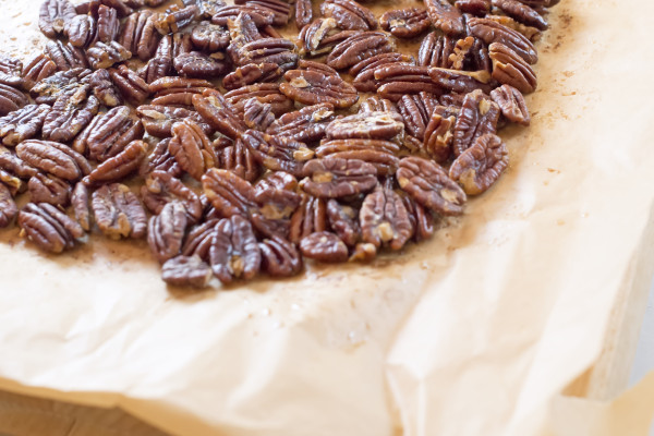 Stovetop Reveal: Drunk and Toasty Myers Pecan Pie